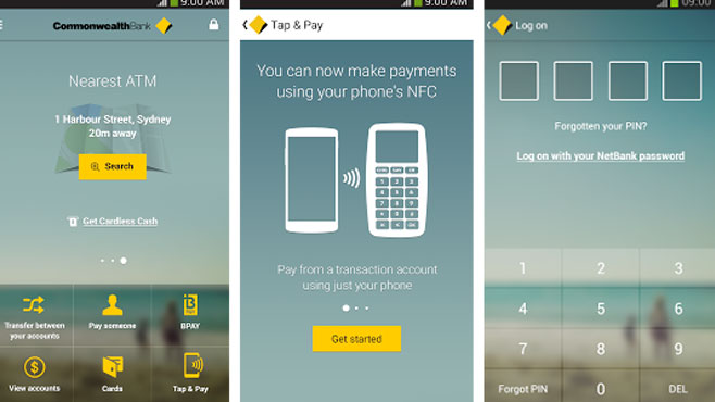 how to get netcode with commbank app